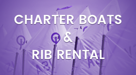 Charter and Ribs Rental